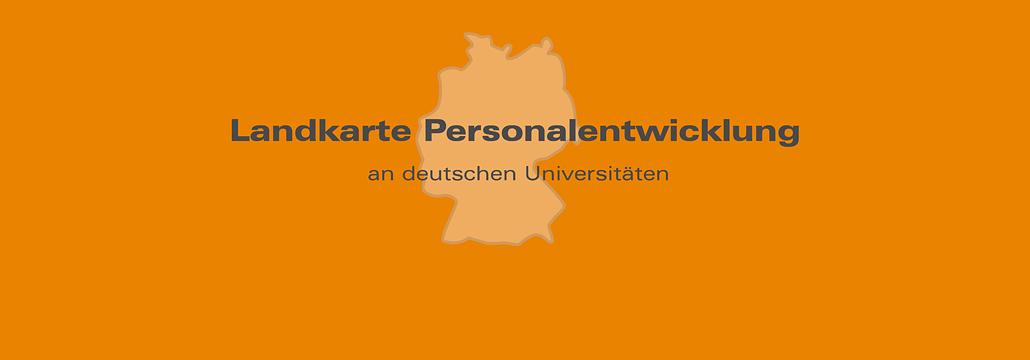 Banner Landkarte Personalentwicklung UniNetzPE