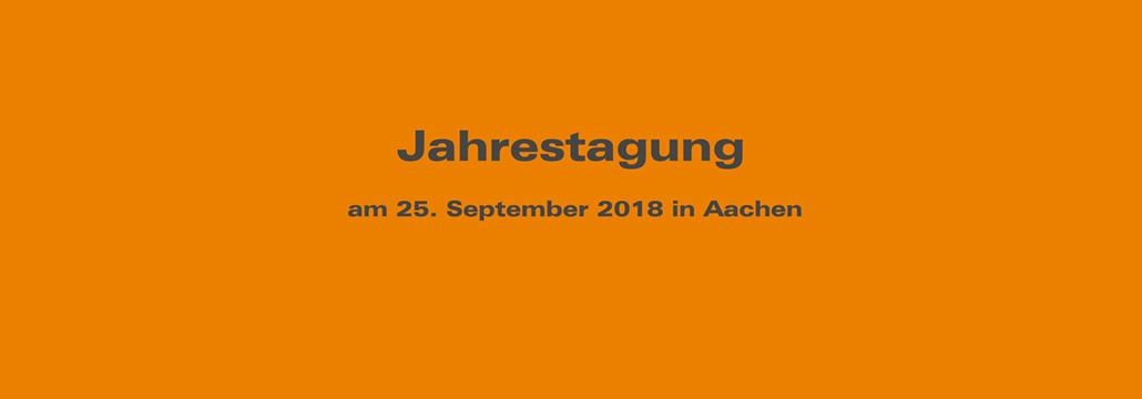 Jahrestagung UniNetzPE 2018 in Aachen
